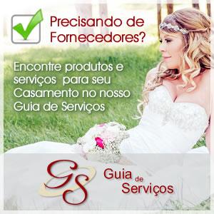Encontre fornecedores de Casamento no Guia de Serviços