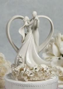 Topo de bolo porcelana