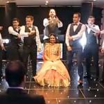 Sete irmãos fazem coreografia no casamento da irmã
