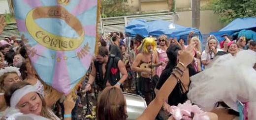 Bloco de carnaval Casa Comigo [Foto: Reprodução]
