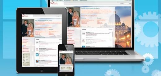 Site para casamentos responsivo