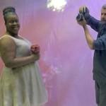Noivinhos 3D para Topo de Bolo de Casamento