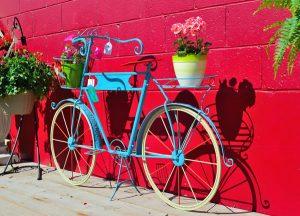 Bicicleta na decoração do Casamento