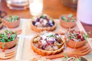 As comidas do casamento