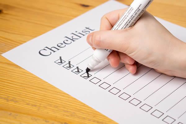 Lista de tarefas dos preparativos do casamento