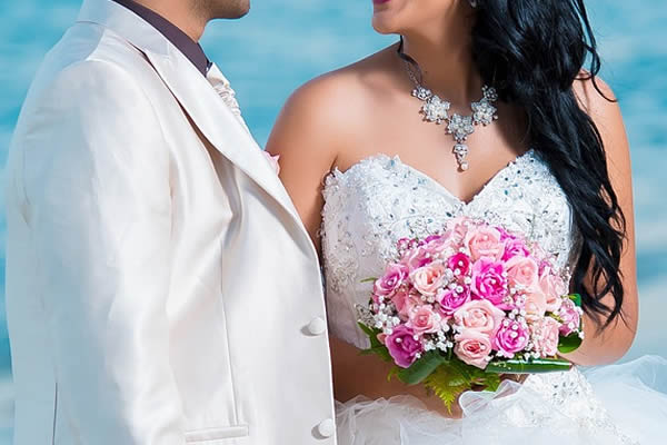 Buquê para casamento praiano