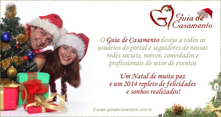 Cartão de Natal Guia de Casamento 2013