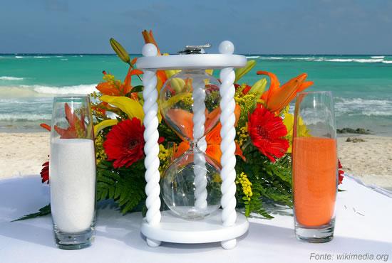 Casamento Ecumênico - Cerimônia das Areias Coloridas