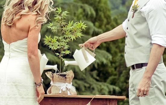 Casamento Ecum�nico - Cerim�nia da �rvore