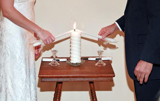 Casamento Ecum�nico - Cerim�nia das Velas