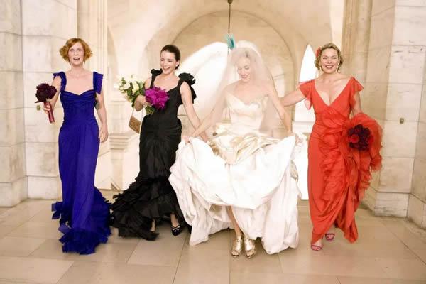 Casamento no filme Sex and the City | Foto: Reprodução