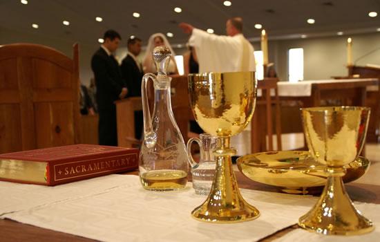 Cerim�nia de Casamento Inter-religiosa