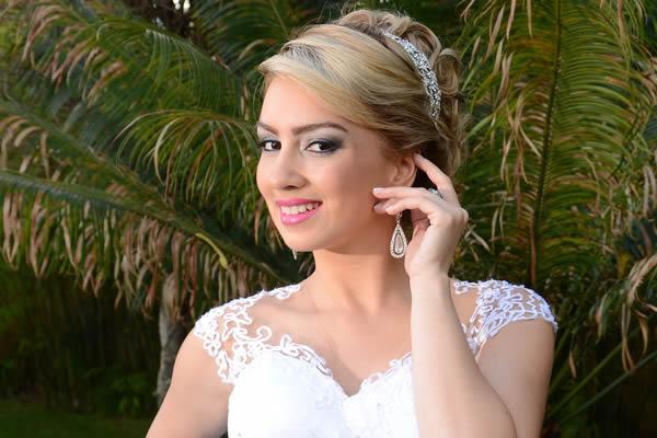 Inovando no cabelo da noiva