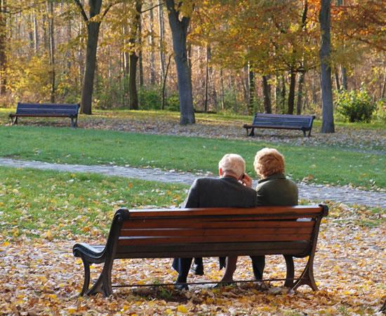 Conselhos dos casais idosos sobre casamento