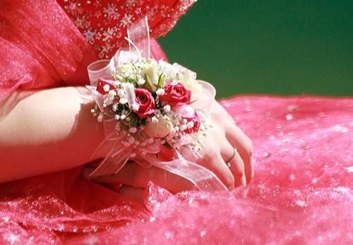Corsage para Madrinhas de Casamento