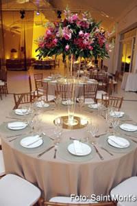 Decoração de Casamento mesas