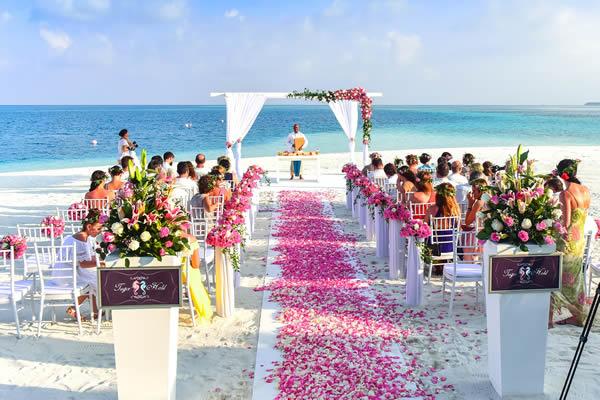 Espaço para casar no verão
