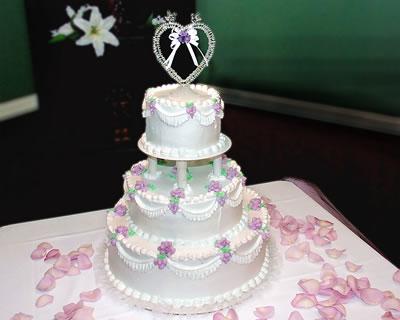 Três Formatos mais Pedidos de Bolo de Casamento