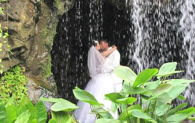 Fotos em casamento no campo