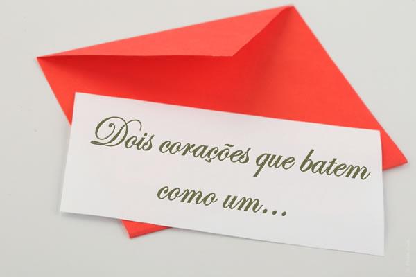 Frases para os convites