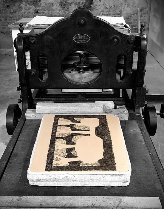 Impressão litográfica