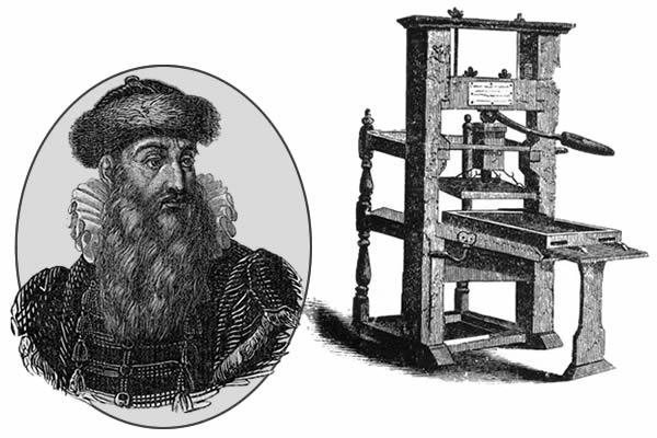 Gutenberg e sua imprensa