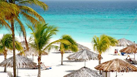 O mar de Aruba