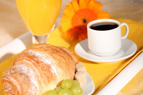 Café da manhã: saúde e beleza