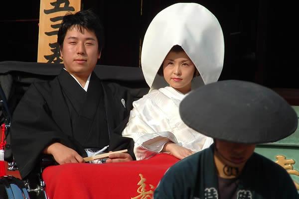 Cerimônia de Casamento Japonesa