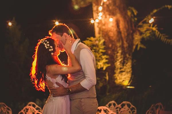 Horário do Casamento: Noite