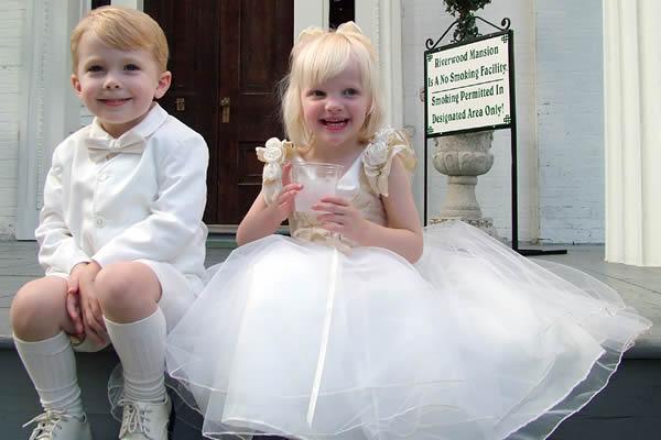 Crianças no casamento, porque não?