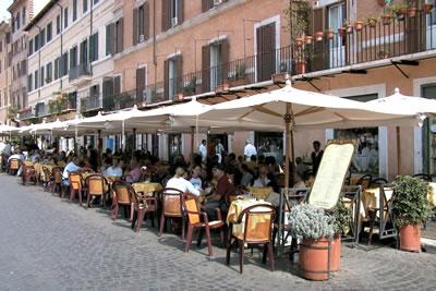 Roteiro gastronômico e cultural de Roma