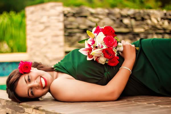 Inovando na Cor do Vestido de Noiva