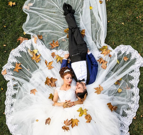 Casamento no Outono: Trajes