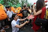 Pang pede Xhao em casamento