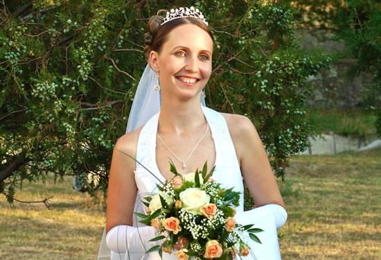 Grinalda da Noiva: Tiara, Coroa e Arranjo de Cabelo