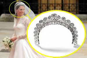 A tiara de Kate Middleton