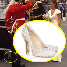Os sapatos de Kate Middleton