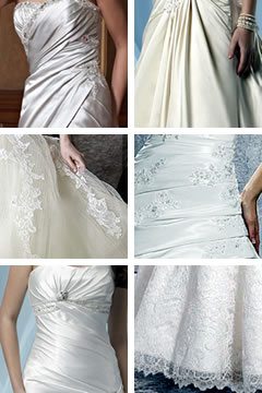 Tecidos para vestido de casamento | Fotos: Sonhos Noivas (Detalhes)