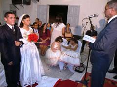 Casamento de ex-padre com ex-freira na PB | Foto: divulgação