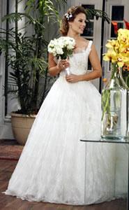 Vestido de Noiva de Marina (novela Insensato Coração)