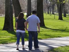 Pesquisa sobre ganho de peso de casais
