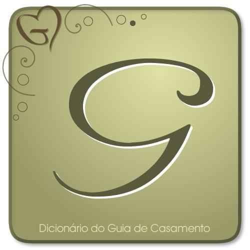 Letra G do Dicionário de Casamento