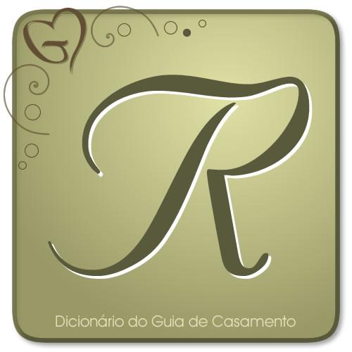 Letra R do Dicionário de Casamento