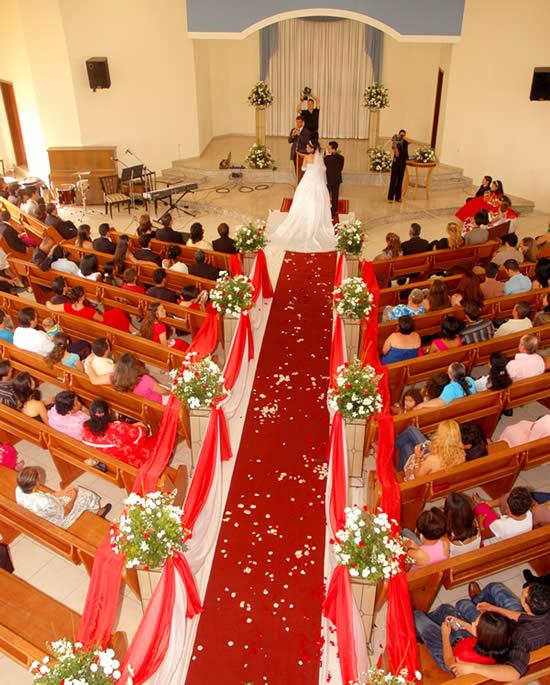 Decoração da Cerimônia de Casamento