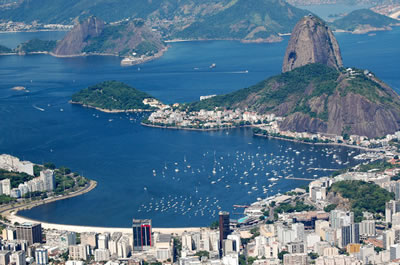 Lua de mel no Rio de Janeiro