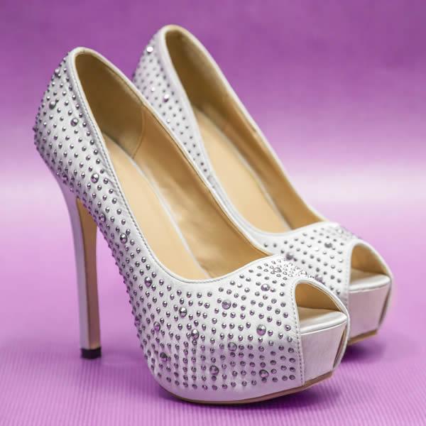Modelos Mais Utilizados de Sapatos para Noivas