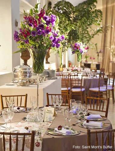 Estilos de decoração para casamento