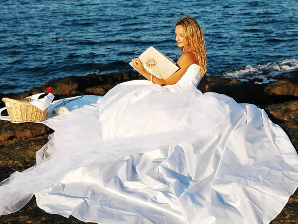 Trash the Dress: Detonando o Vestido de Noiva