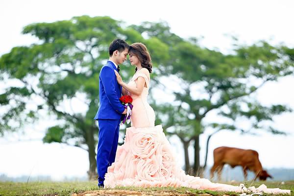 Vestido para Casamento em Espaços Abertos